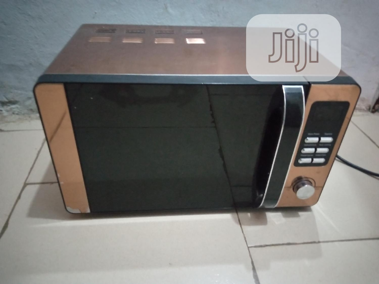 rose gold microwave