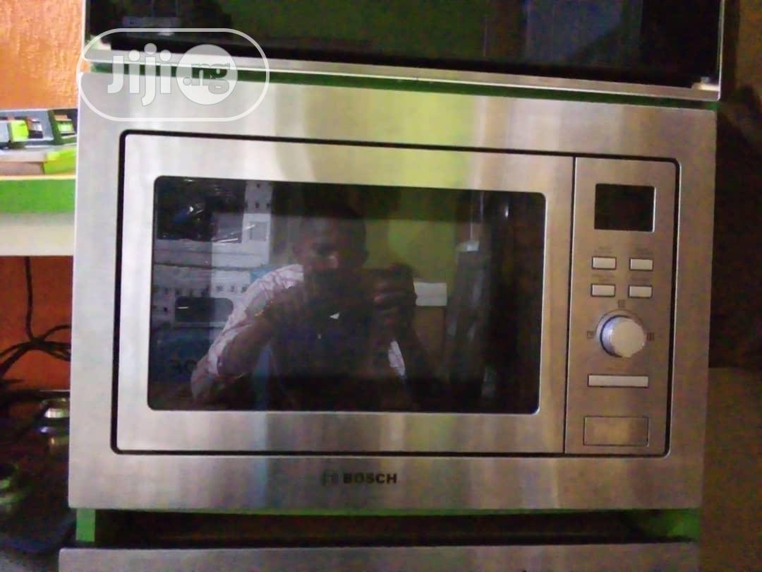 quality bosch built in microwave oven