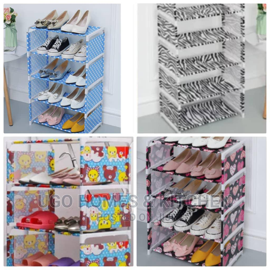https jiji ng ifako ijaiye decor accessories 4 layers cloth shoe rack stackable assembly shoe organizer k1o2vjfnpxmt5ngixg3jiwsm html