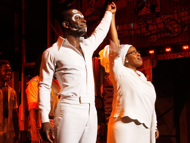 The Beat Is On! Tony-Nominated Afrobeat Musical Fela! Celebrates a Starry Broadway Return