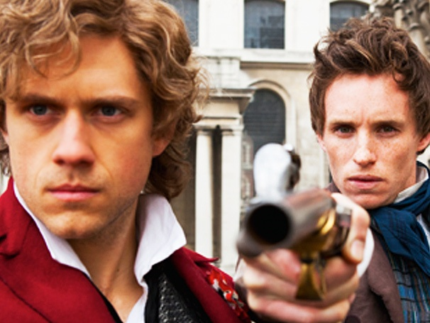 They Will See the People Rise! Check Out the Latest Shot of Aaron Tveit and Eddie Redmayne in Les Miserables