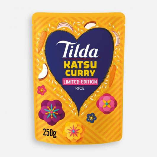Tilda Microwave Katsu Curry Jasmine Rice 250g