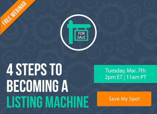 Discover the 4 Steps to Becoming a Listing Machine [FREE WEBINAR]