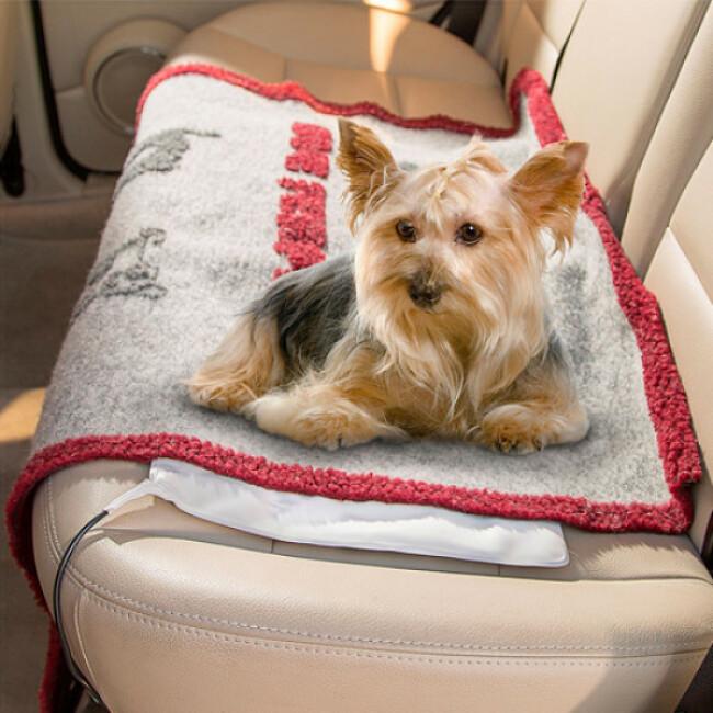 tapis chauffant pet thermal pour chien et chat