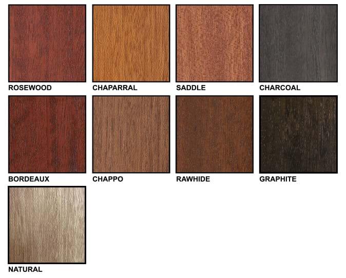 Pella Window Color Chart