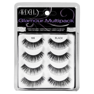 Buy Ardell Glamour Style 105 Multipack False Lashes At Wellca Free Shipping 35 In Canada