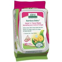 Aleva Naturals Bamboo Baby Hand 'n' Face Wipes