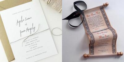 Dari Simple Sampai Unik Ini 5 Desain Undangan Pernikahan Yang Bisa