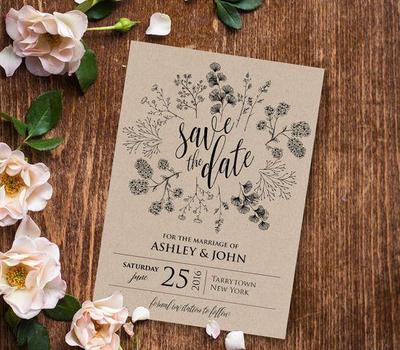 Sederhana Dan Berkelas Ini Dia 5 Desain Undangan Pernikahan Yang