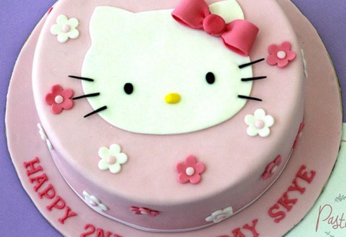 Hello Kitty Themed Cake Buy Cakes In Dubai Uae Gifts