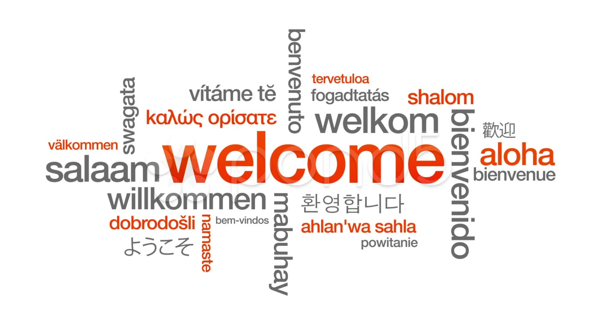 Thank You In Different Languages Poster
