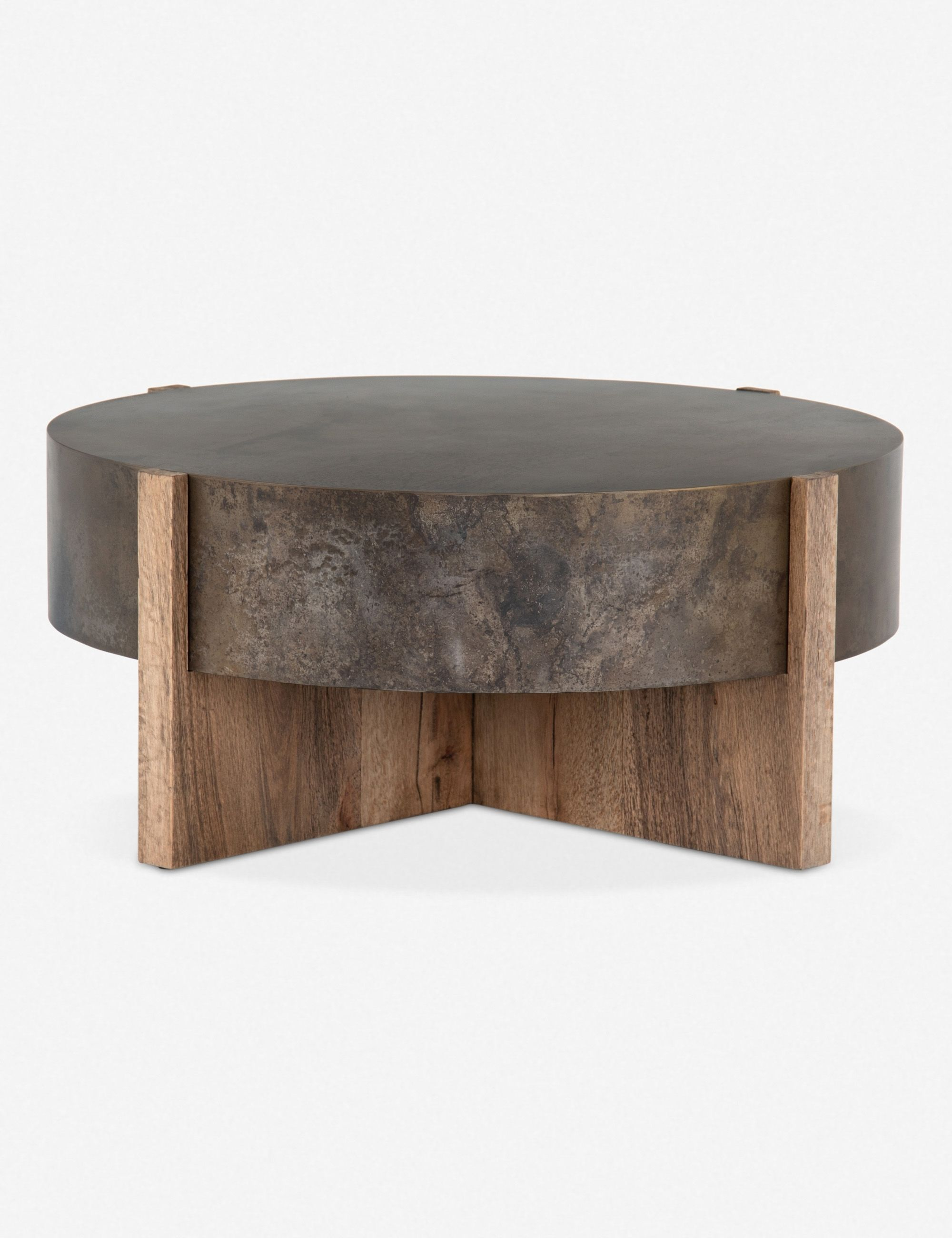 irminie round coffee table