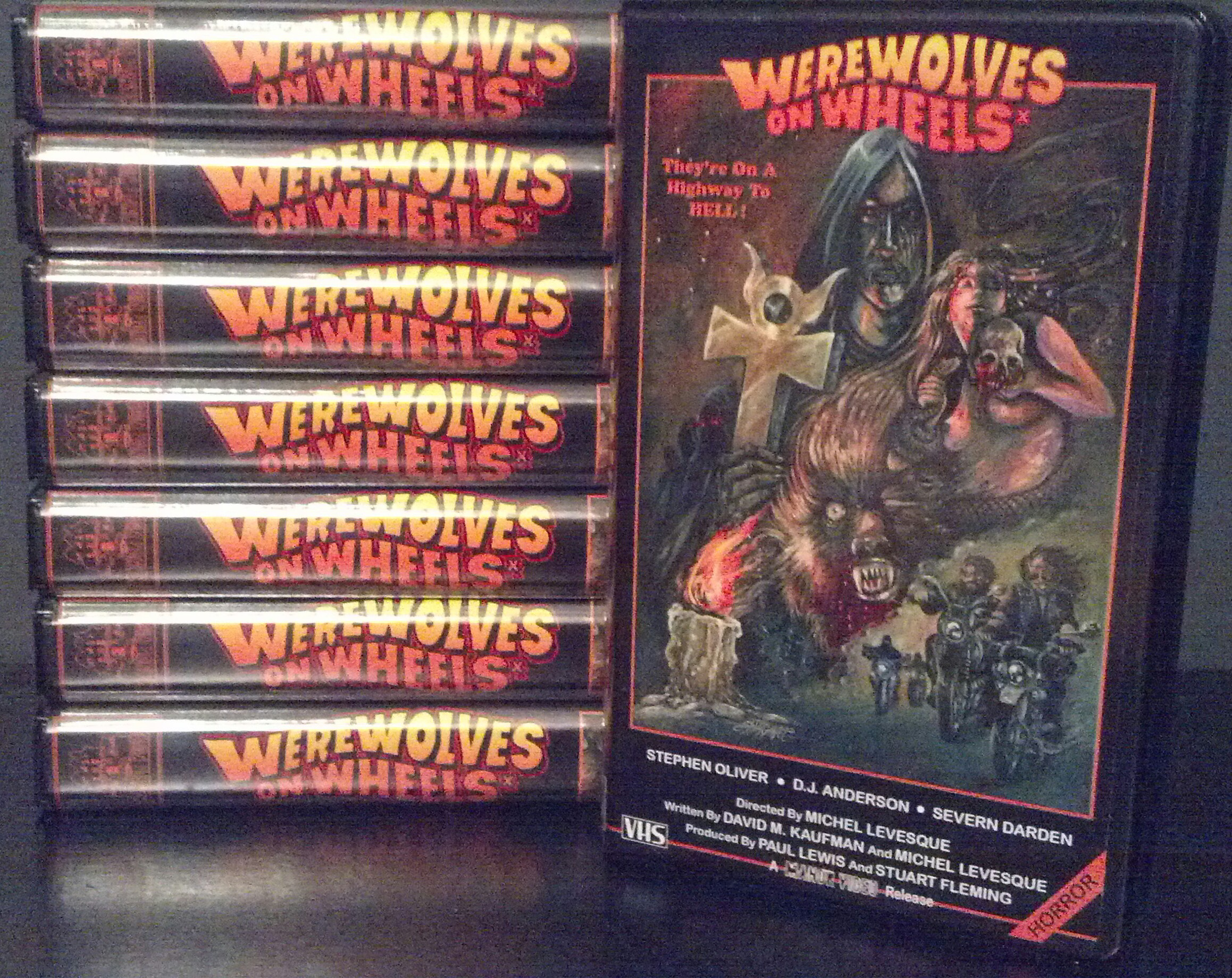 WEREWOLVES ON WHEELS VHS On Storenvy