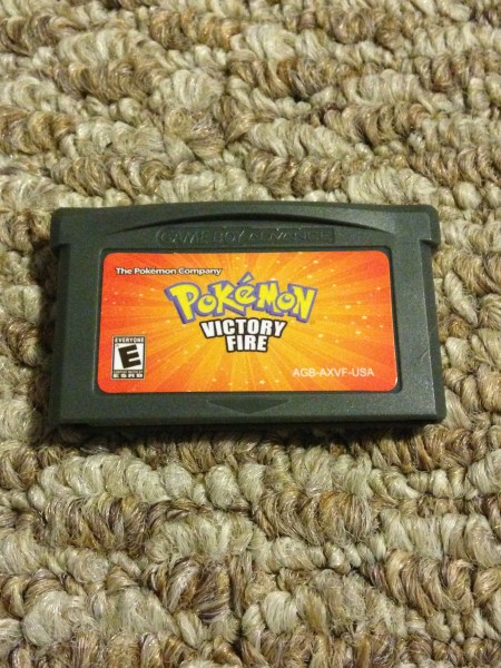 Pokemon Victory Fire Version Fan Made Nintendo Game Boy Advance Game     Img 3623 original
