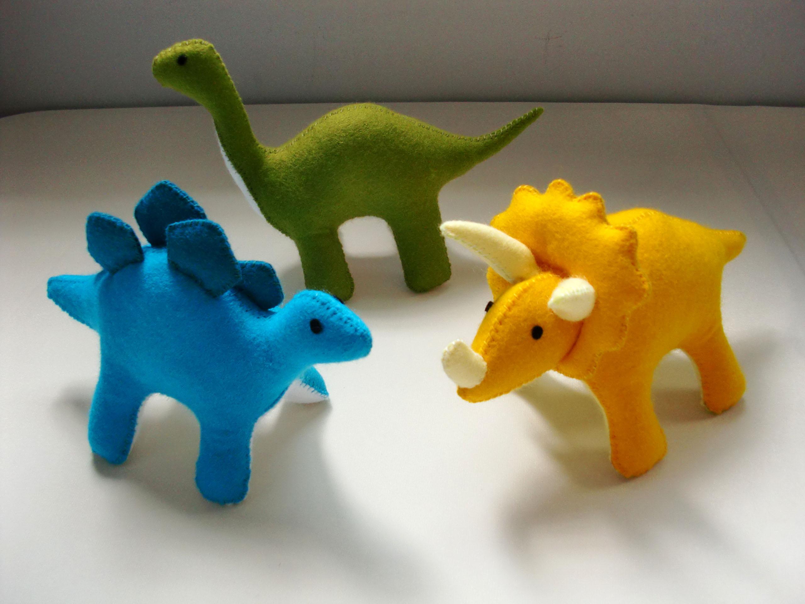 Felt Dinosaur Pattern Set