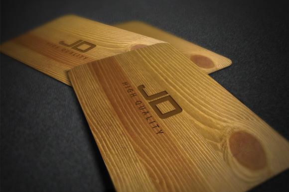 Wood Card ~ Business Card Templates on Creative Market