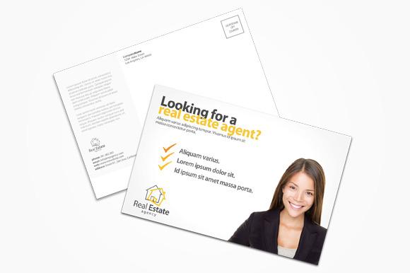 creative real estate agent flyers designtube creative design