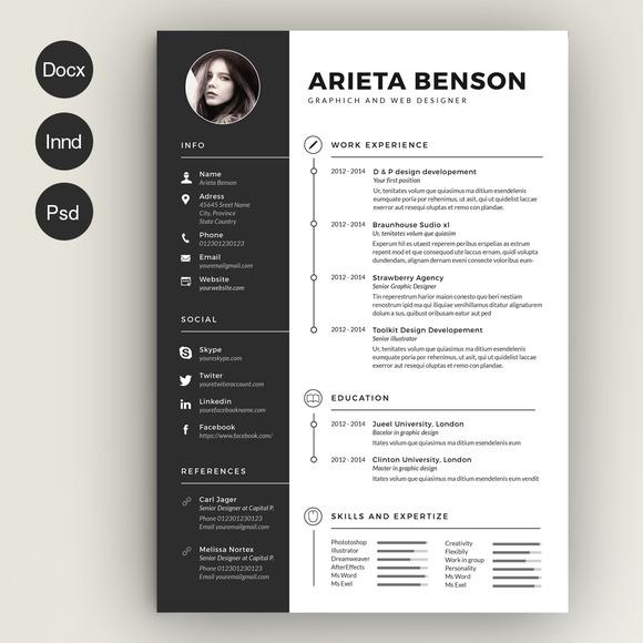 cute resume templates creative resume cute resume templates etsy