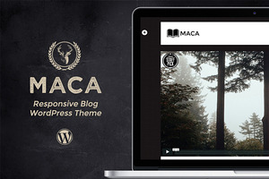 Maca - Responsive Blogging Theme