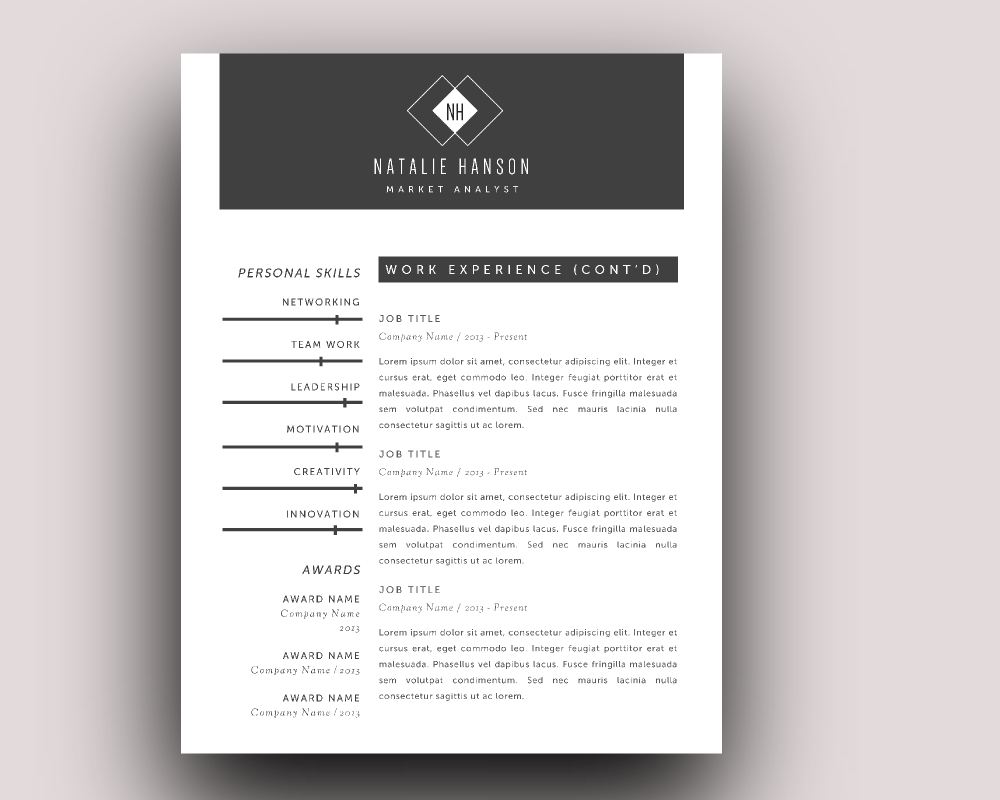 word resume business card templates resume templates on creative