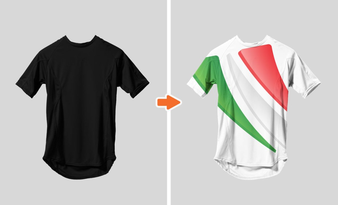 Download Sports Jersey Mockup Template Pack ~ Product Mockups on ...