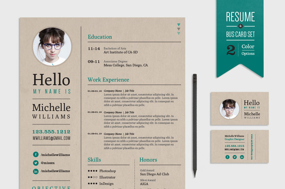 04 freeresumetemplatebusinesscard you will also find included as