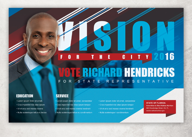 vision political flyer template flyer templates on creative market