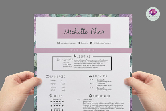 trendy resumes creative resume templates resume and cv templates
