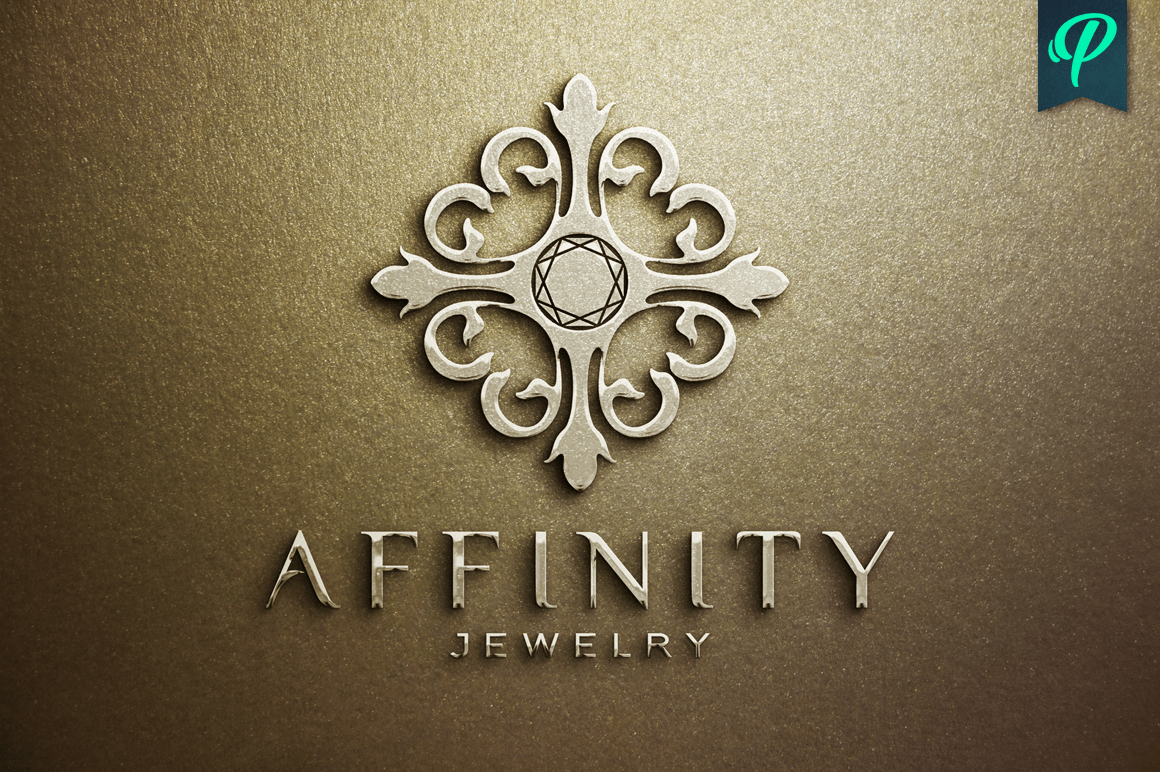 Affinity Jewelry Logo Template Logo Templates On