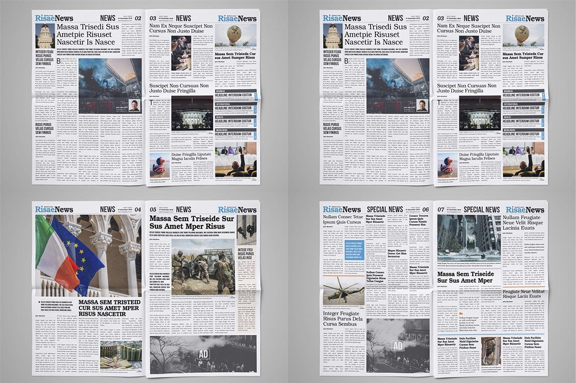 How To Make Your Own Newspaper Templates Amp Tips