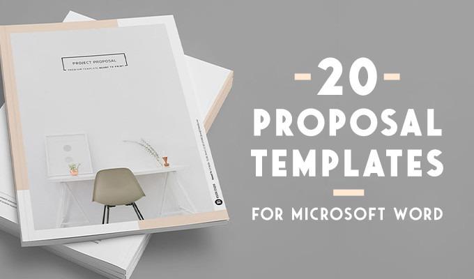 20 Creative Business Proposal Templates You Wont Believe