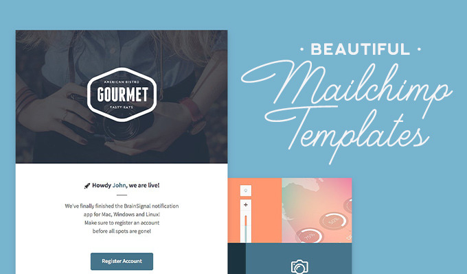 Mailchimp Templates Beautiful Layouts To Design Polished