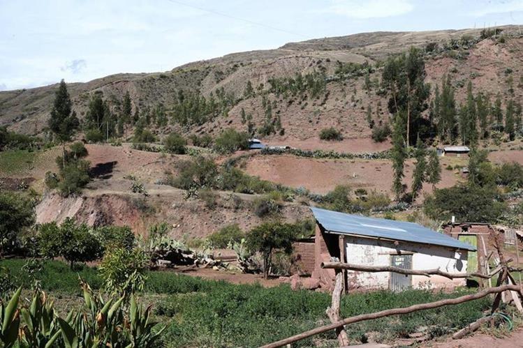 El uso de tierras agrícolas para otros fines, es uno de los problemas. (Foto Prensa Libre: EFE)