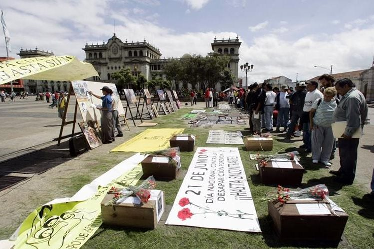 Guatemala fue de nuevo condenada por la desaparición forzada de 22 personas. (Foto Prensa LIbre: Hemeroteca PL)