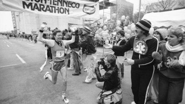 La corredora noruega Ingrid Kristiansen ganó el maratón de Houston en 1983 cuando estaba embarazada. (AP)