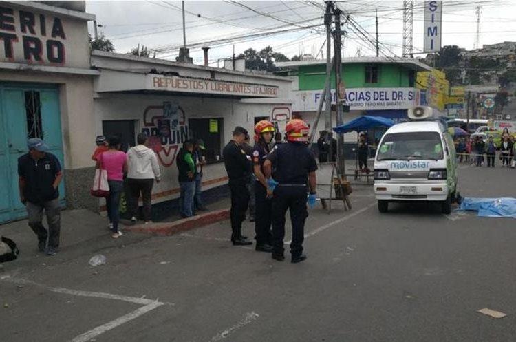 Un trabajador de Movistar murió en un ataque ocurrido en la zona 18. (Foto Prensa Libre: Hemeroteca PL)