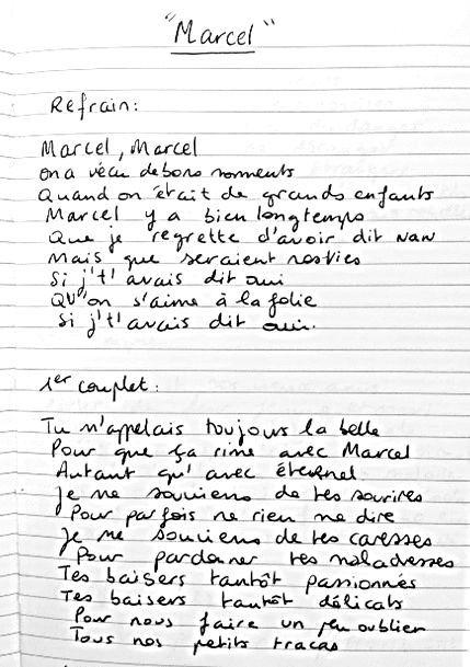 Marcel d'Aurélie Laffont