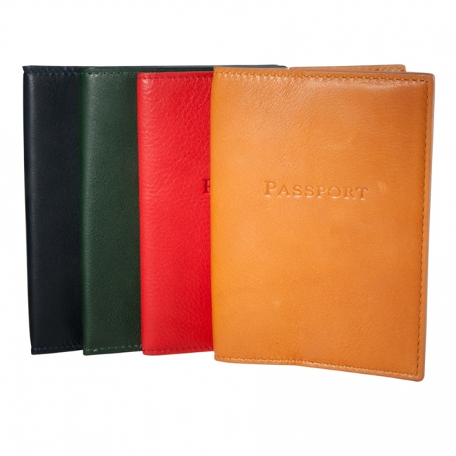 Passport Holder  Traditional Leather