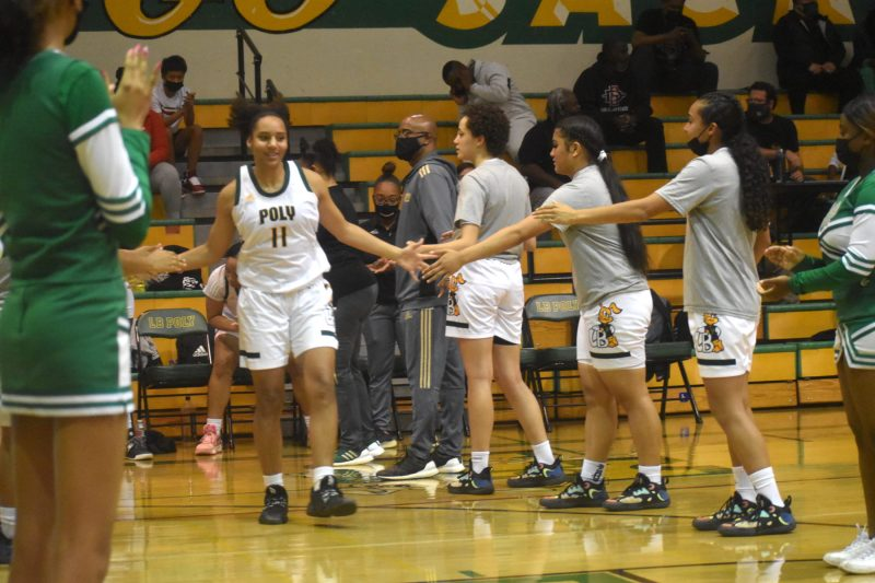 Long Beach Poly girls basketball