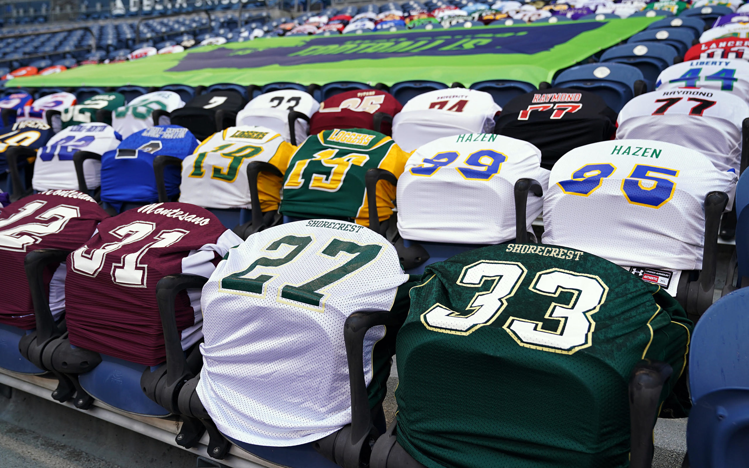 In place of the '12s', Seattle Seahawks display carnival of ...