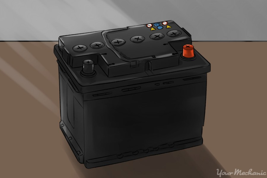 How to Charge a Dead Car Battery   YourMechanic Advice car battery