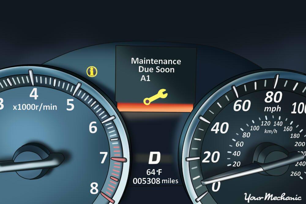 2005 Honda Accord Indicator Lights