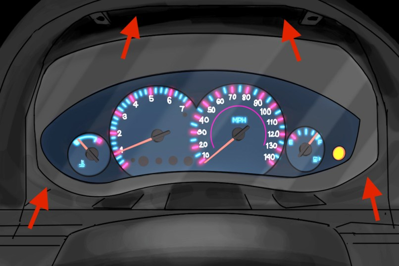Nissan    Versa Dashboard Lights Dimmer   Decoratingspecial
