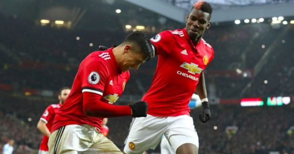 Image result for Pogba and Sanchez