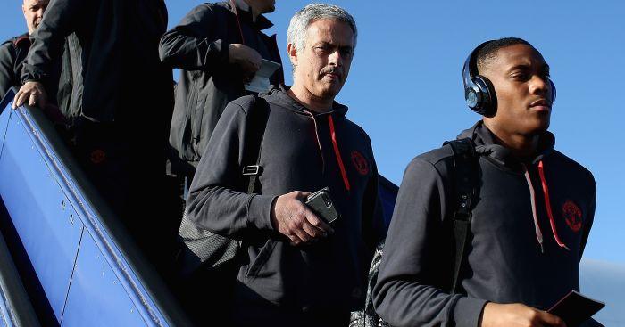 Mourinho; Martial TEAMtalk