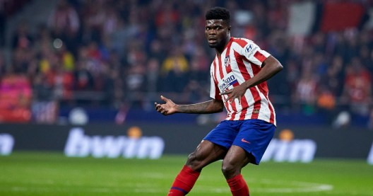 Atletico Madrid star Thomas Partey wants to make move to Arsenal