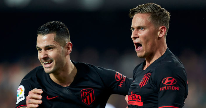 Vitolo, Marcos Llorente Atletico Madrid TEAMtalk