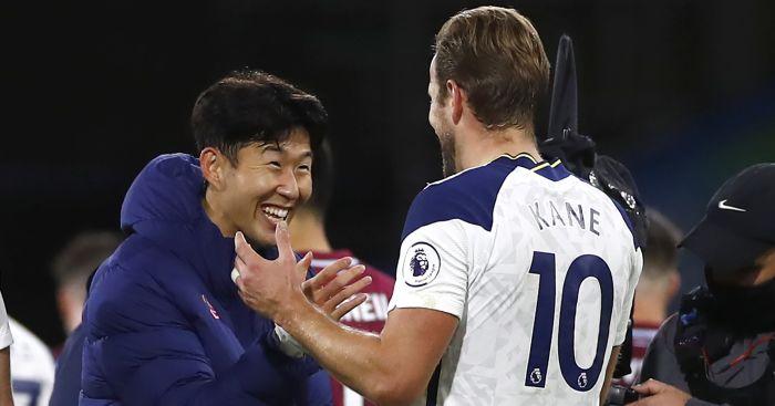 Heung Min Son Harry Kane Tottenham TEAMtalk
