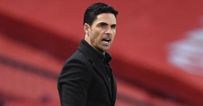 Arteta allows furious meeting between players in desperate rescue mission