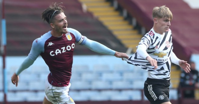 Man Utd squad's cheeky attempt to entice Villa ace Grealish revealed